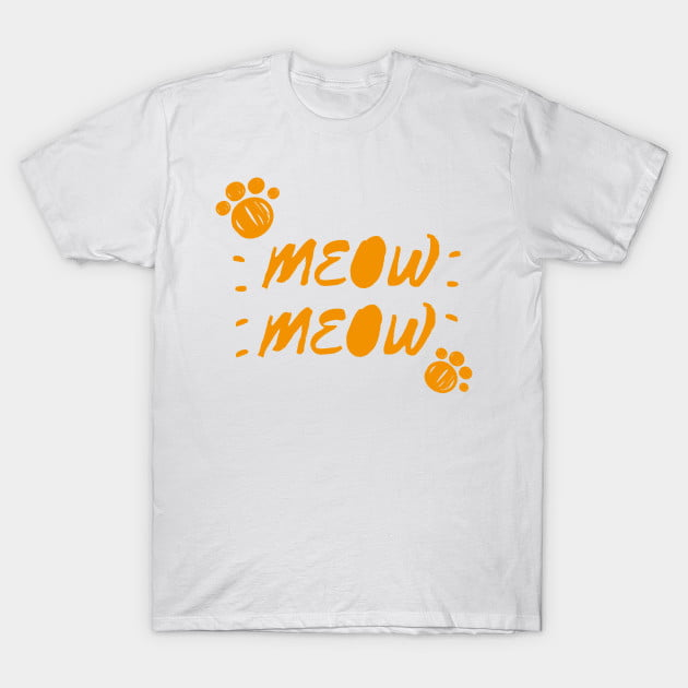 Orange Cat T-Shirts