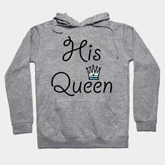 Her King His Queen Hoodies