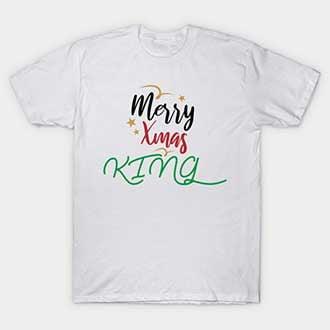 Merry Xmas King T-Shirt