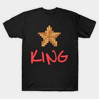 Pixel Star Christmas King T-Shirt