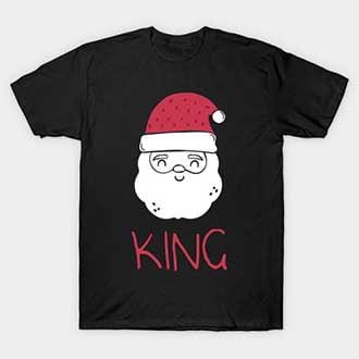 Santa Claus King T-Shirt