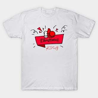 Santa Glove King T-Shirt