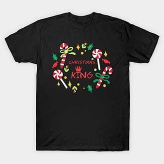 Wreath Christmas Queen T-Shirt