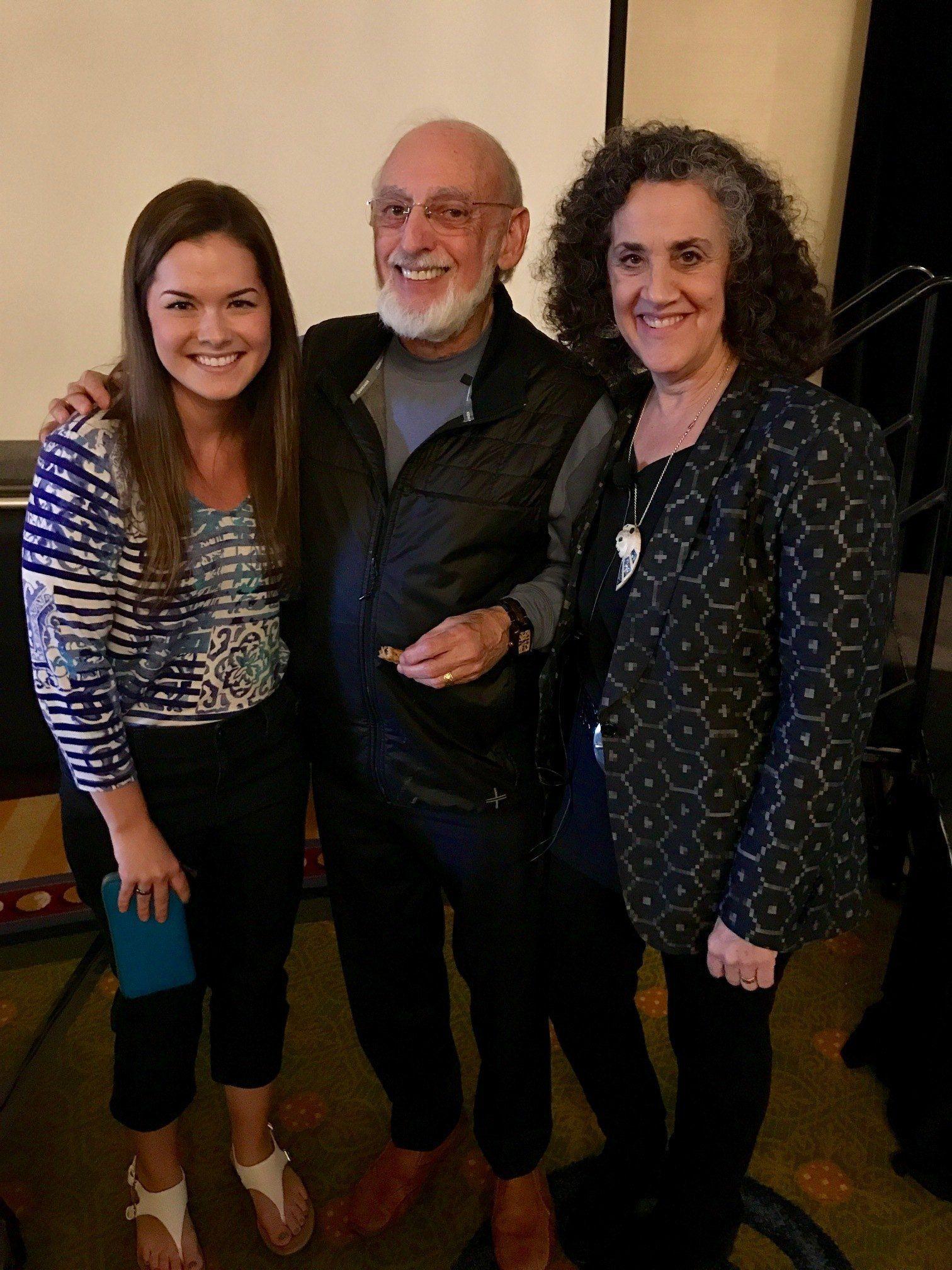 The Gottmans and Rebecca Lanier