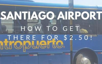 Cheapest way to get to/from santiago airport
