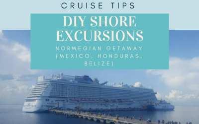 Norwegian Getaway: DIY Shore Excursions in Roatan Bay, Belize City, Costa Maya and Cozumel (with Photos)