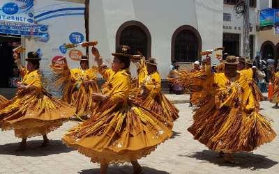 Festival of the Virgen de la Candelaria, Copacabana, Bolivia