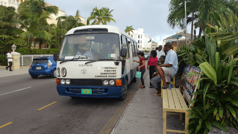 The number 10 bus to Cable Beach