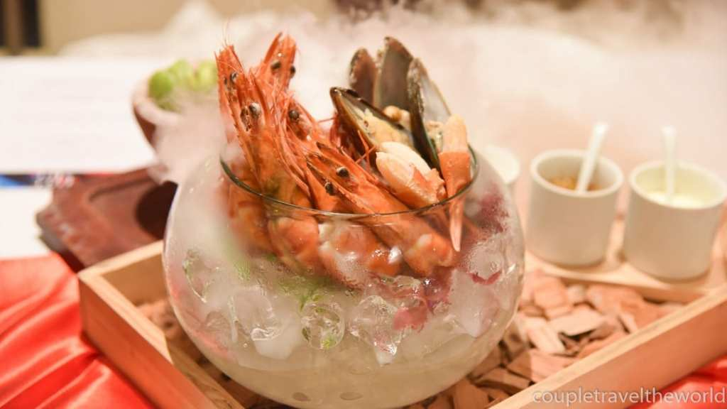 Fire and Ice Dining Novotel Surin Beach