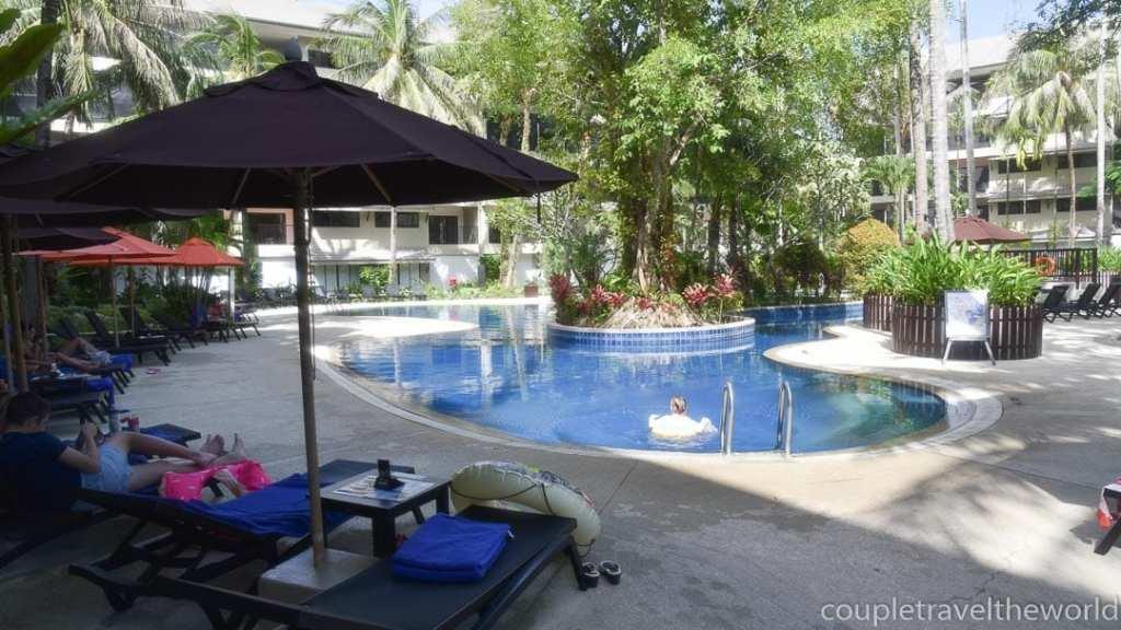 The pools at Novotel Surin Beach