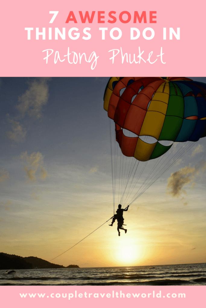 Things to do in Patong Phuket