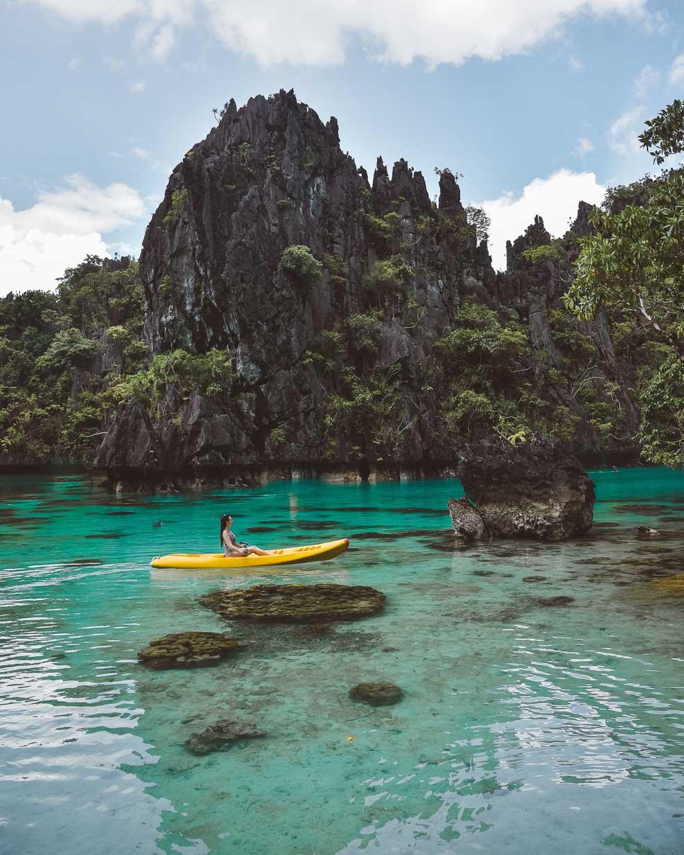 Big Lagoon, El Nido + kayaking