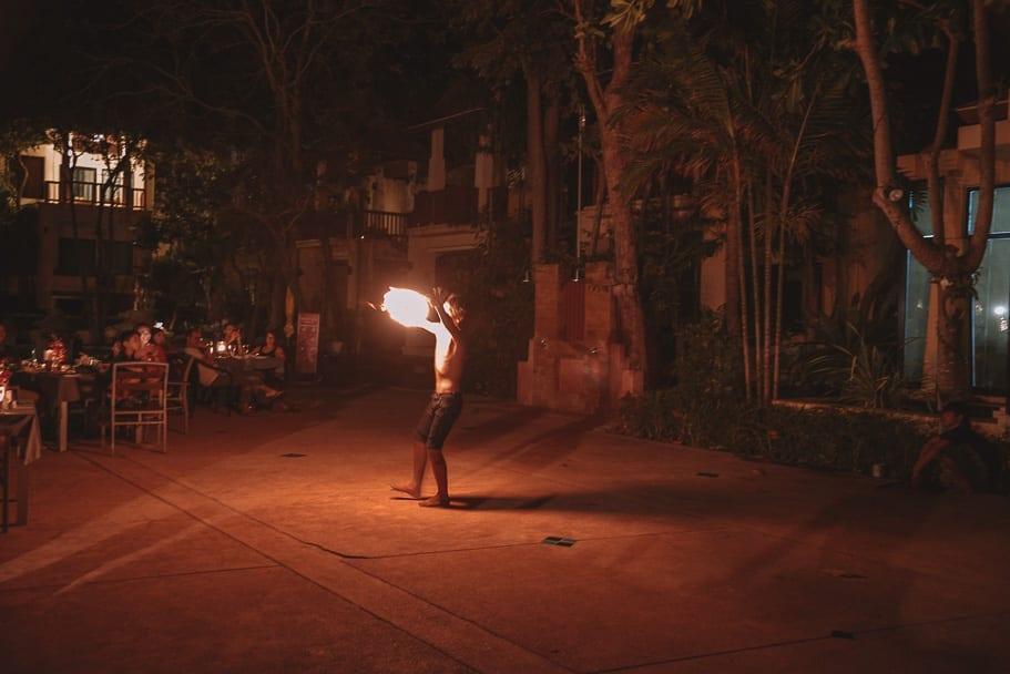 Fire Show Koh Lanta
