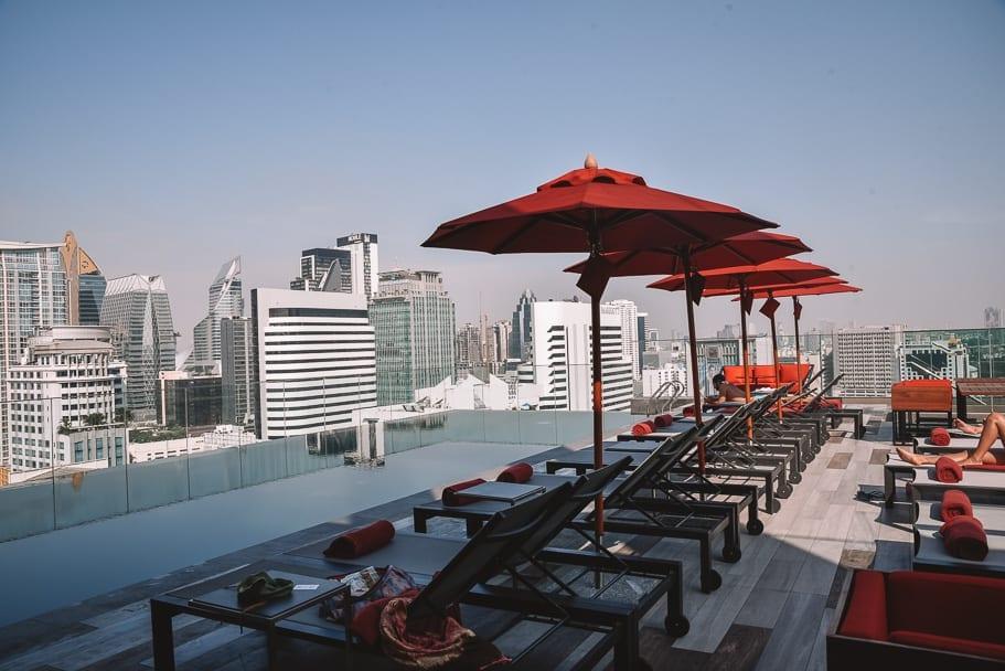 Infinity Pool at Novotel Sukhumvit 4 Bangkok. Check out our Novotel Sukhumvit 4 Bangkok Review
