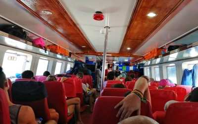 How to get from El Nido to Coron by ferry