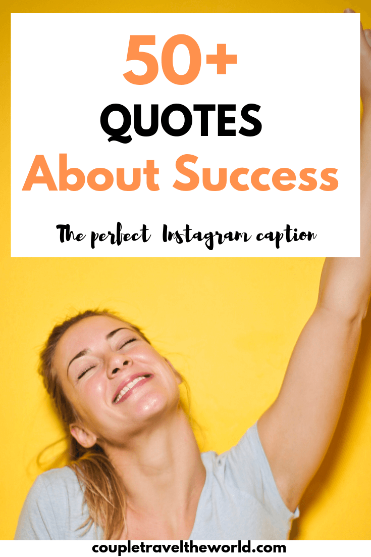 Instagram captions for success and achievement