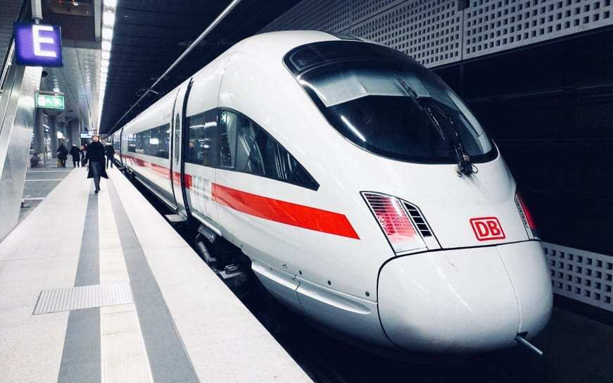 Brussels to Munich Train with Eurail