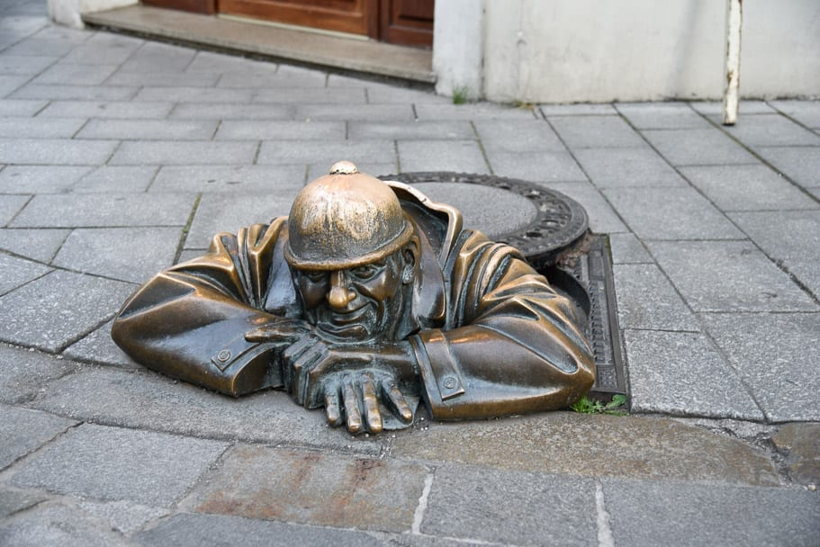 Čumil-The-Sewer-Man!