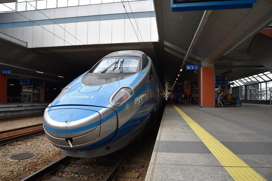 Krakow-to-Gdansk-EIP-train