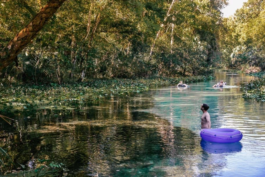 Kelly Park Rock Springs Florida Tubing (The best weekender from Orlando)