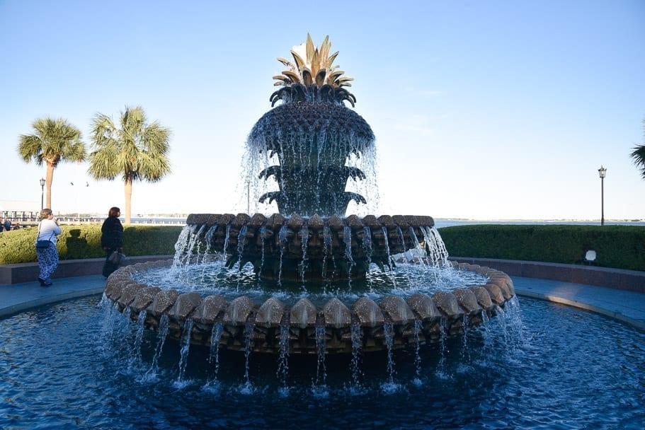 pineapple-fountain-charleston