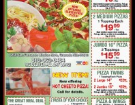 Ameci Pizza & Pasta, Granada Hills, coupons, direct mail, discounts, marketing, Southern California