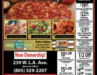 Round Table Pizza, Moorpark, coupons, direct mail, discounts, marketing, Southern California