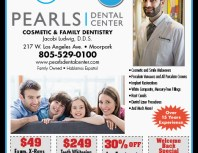 Pearls Dental Center, Moorpark, coupons, direct mail, discounts, marketing, Southern California