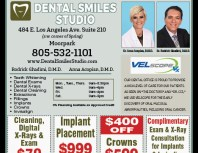 Dental Smiles Studio, Moorpark, coupons, direct mail, discounts, marketing, Southern California