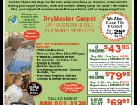 DryMaster Carpet, Porter Ranch, coupons, direct mail, discounts, marketing, Southern California