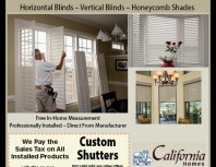 Shutters and Shades 4U, Porter Ranch, coupons, direct mail, discounts, marketing, Southern California