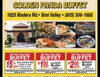Golden Panda Buffet, Simi Valley,, coupons, direct mail, discounts, marketing, Southern California