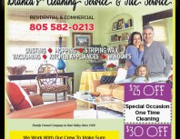 Blanca's Cleaning Service & Tile Service, Simi Valley,, coupons, direct mail, discounts, marketing, Southern California