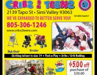 Cribs 2 Teens 2nd Time Around, Simi Valley,, coupons, direct mail, discounts, marketing, Southern California