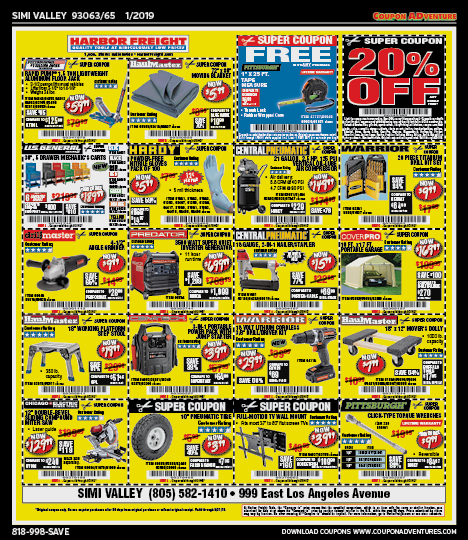 Simi Valley 93063/65 January 2019 coupons | Coupon ADventures