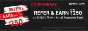Airtel Thanks App UPI Cashback