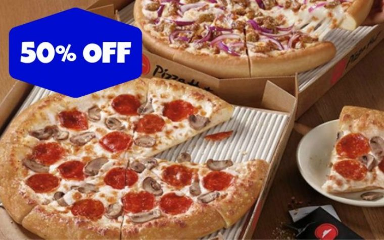 60% Off Pizzahut Coupon and Promo Codes December 2018 1