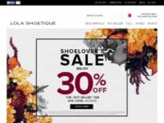 Lola Shoetique Coupon Get Discont
