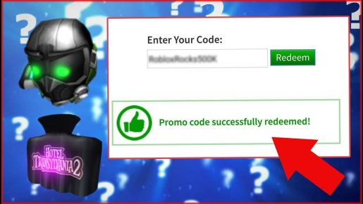 Roblox Promo Codes Use Codes