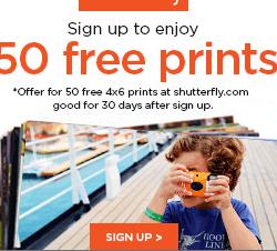 Free Prints Promo Code