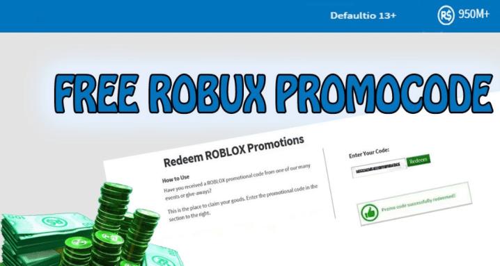 Free Roblox promo codes 2019