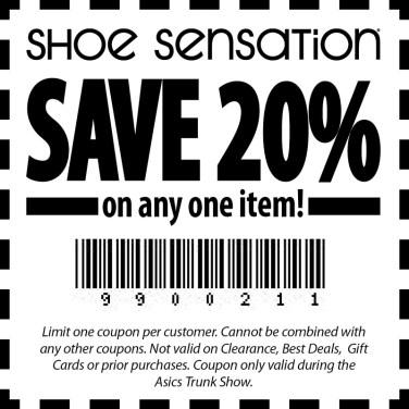 Shoe Sensation Coupon Get maximum discount 45%
