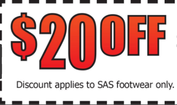 Sas Shoes Coupon available coupon 20% Off