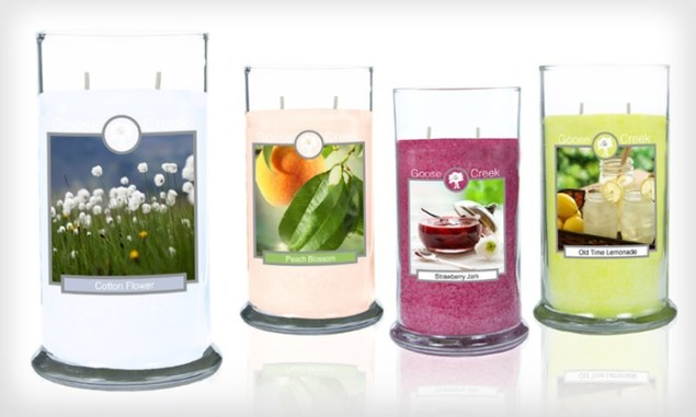 Get Goose Creek Candles Coupon for 45% Off
