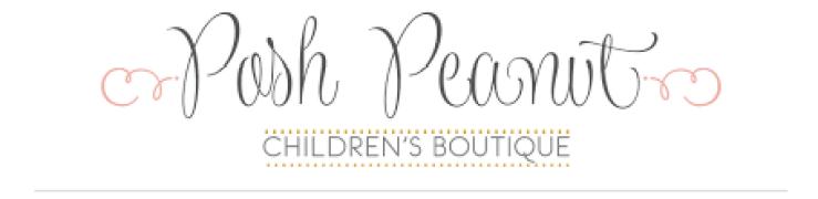 Posh Peanut Coupon for discount