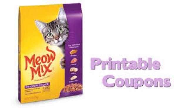 discount 55% Meow Mix Coupons
