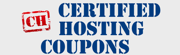 certified hosting coupons