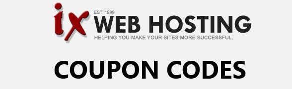 ixwebhosting coupon codes