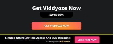 Viddyoze Discount offer