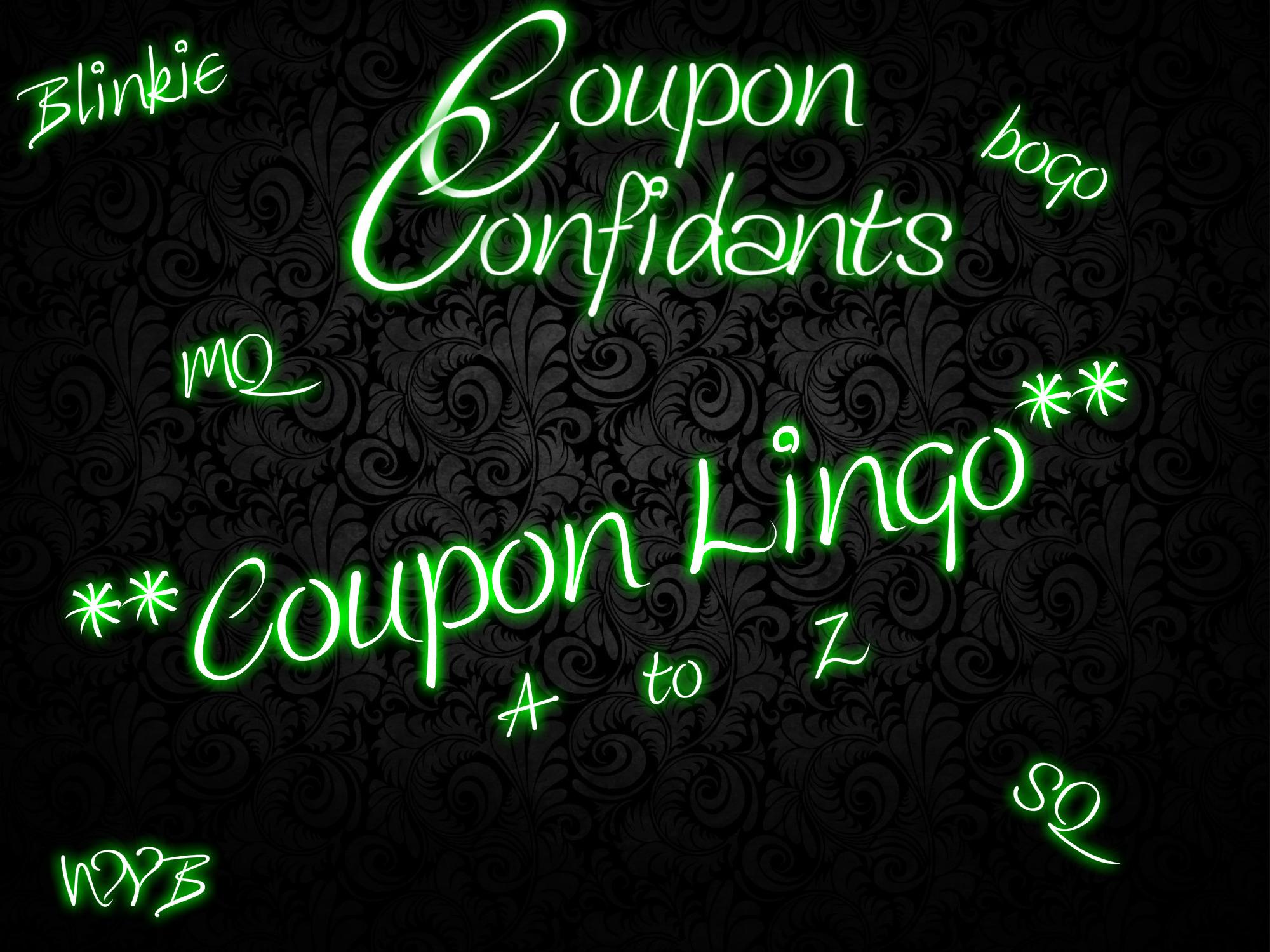 Coupon Lingo Coupon Confidants